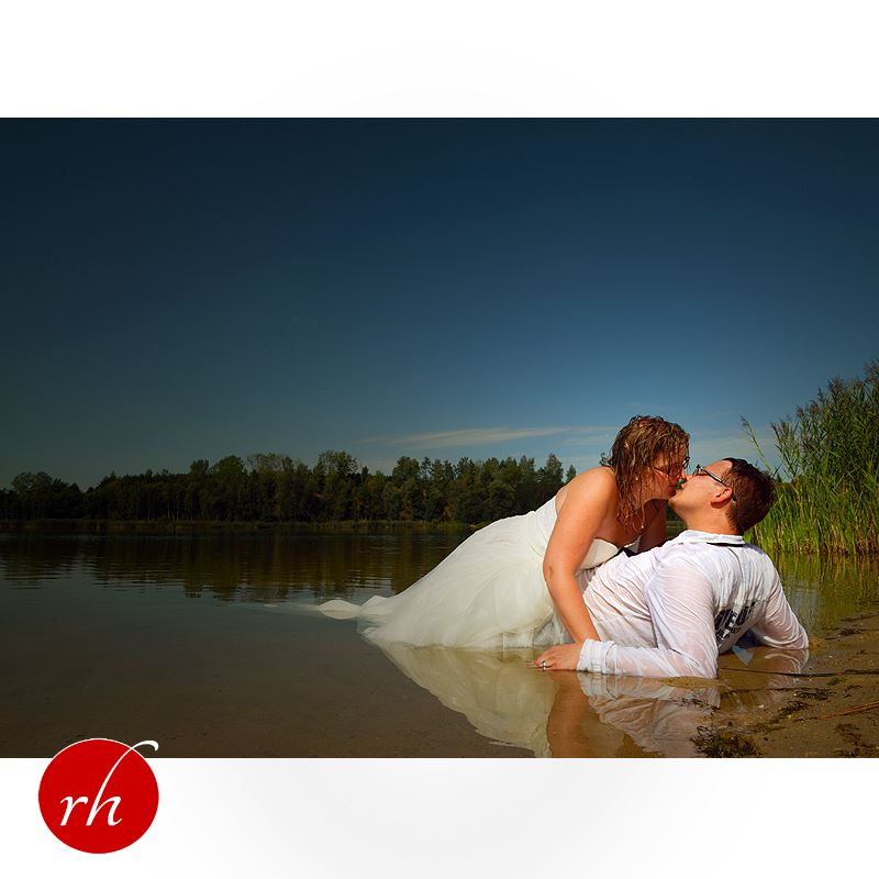 Trash The Dress - Romantik am Badesee